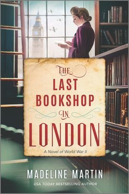 The Last Bookshop In London Release Date? Madeline Martin 2021 New Releases