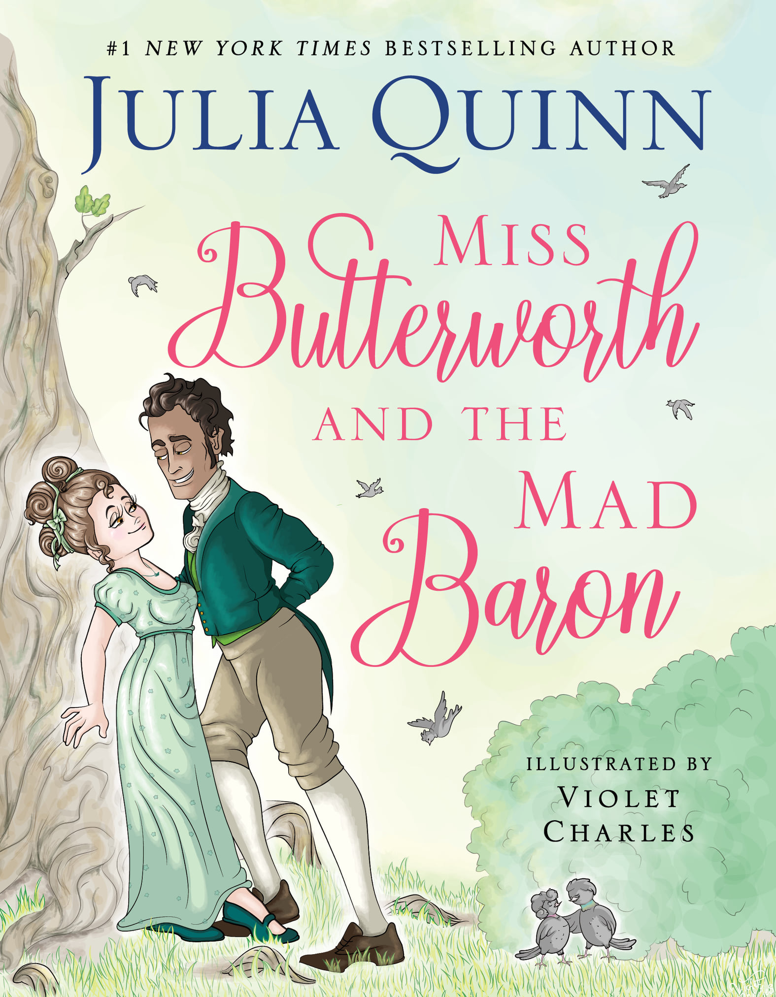 Miss Butterworth And The Mad Baron Release Date? Julia Quinn & Violet Charles 2021 New Book