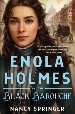Enola Holmes And The Black Barouche Release Date? Nancy Springer 2021 New Book
